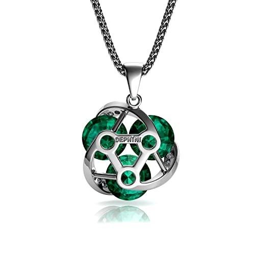 DEPHINI - Green Necklace HLPAc
