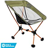 Wildhorn Terralite Ultralight Heavy Duty Outdoor Folding Camp Chair - for Adults, Beach, Travel, Backpacking and Camping