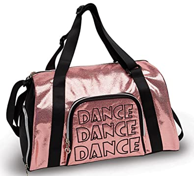 Amazon.com: Shine Bright danza bolsa deportiva B454: Shoes