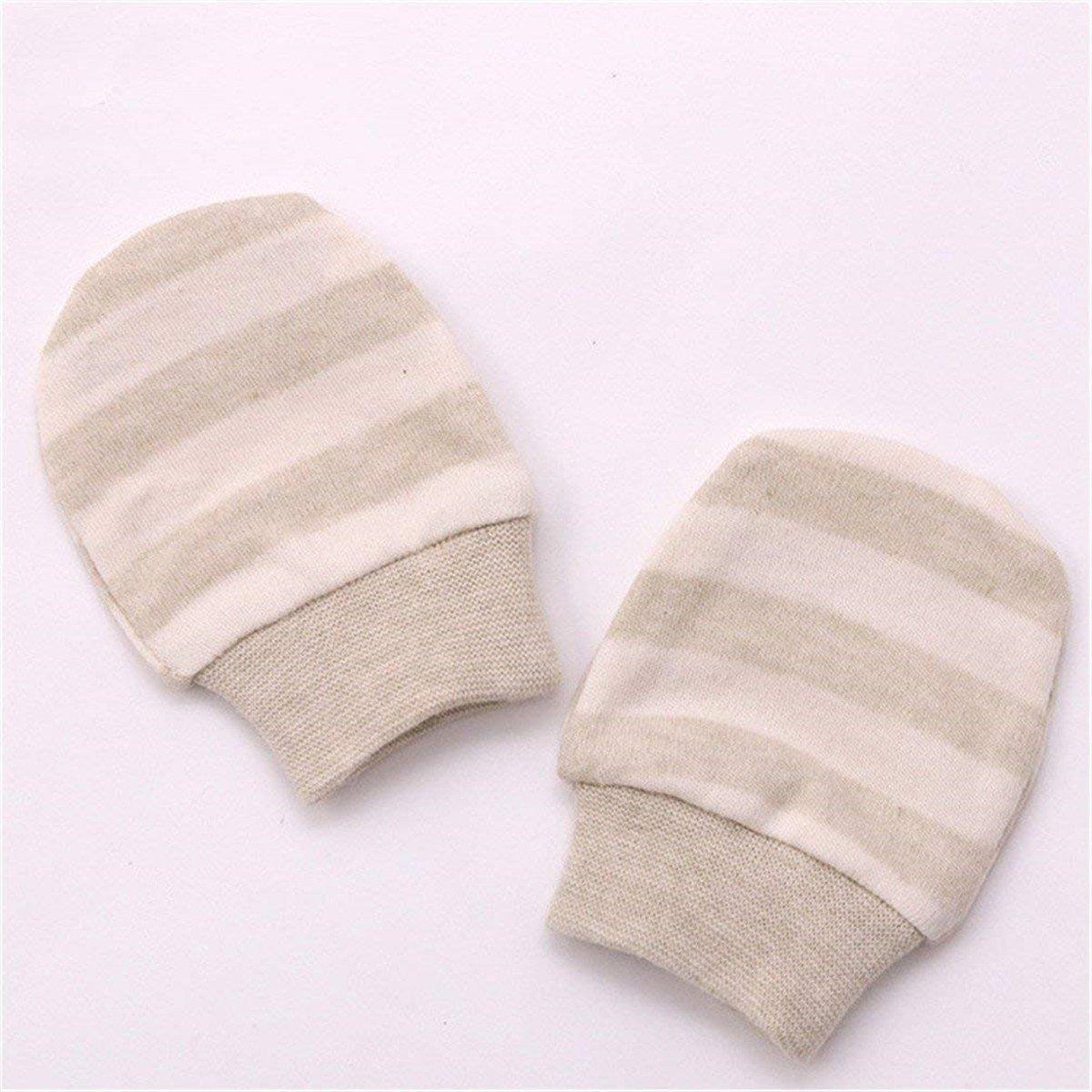Affe 2/pares//lot beb/é ni/ña ni/ño oto/ño//invierno espesada calentador guantes manoplas antiara/ñazos para reci/én nacido