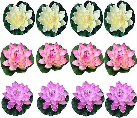 Foam Water Home Decoration Artificial  Flower Simulation Fake Plants Lotus