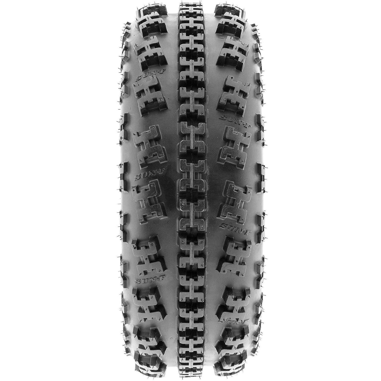 Set of 2 SunF A027 XC ATV UTV Knobby Sport Tires 20x10-9 Tubeless 6 PR