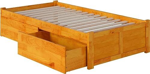 Atlantic Furniture Concord Platform 2 Urban Bed Drawer