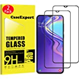 CaseExpert 2 Pack - Samsung Galaxy M20 Protector de Pantalla, Ultra Tanque Transparente Cristal 9H Cristal Templado…