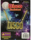 NEW DISCO NECKLACE 70S STAURDAY NIGHT FEVER FANCY DRESS