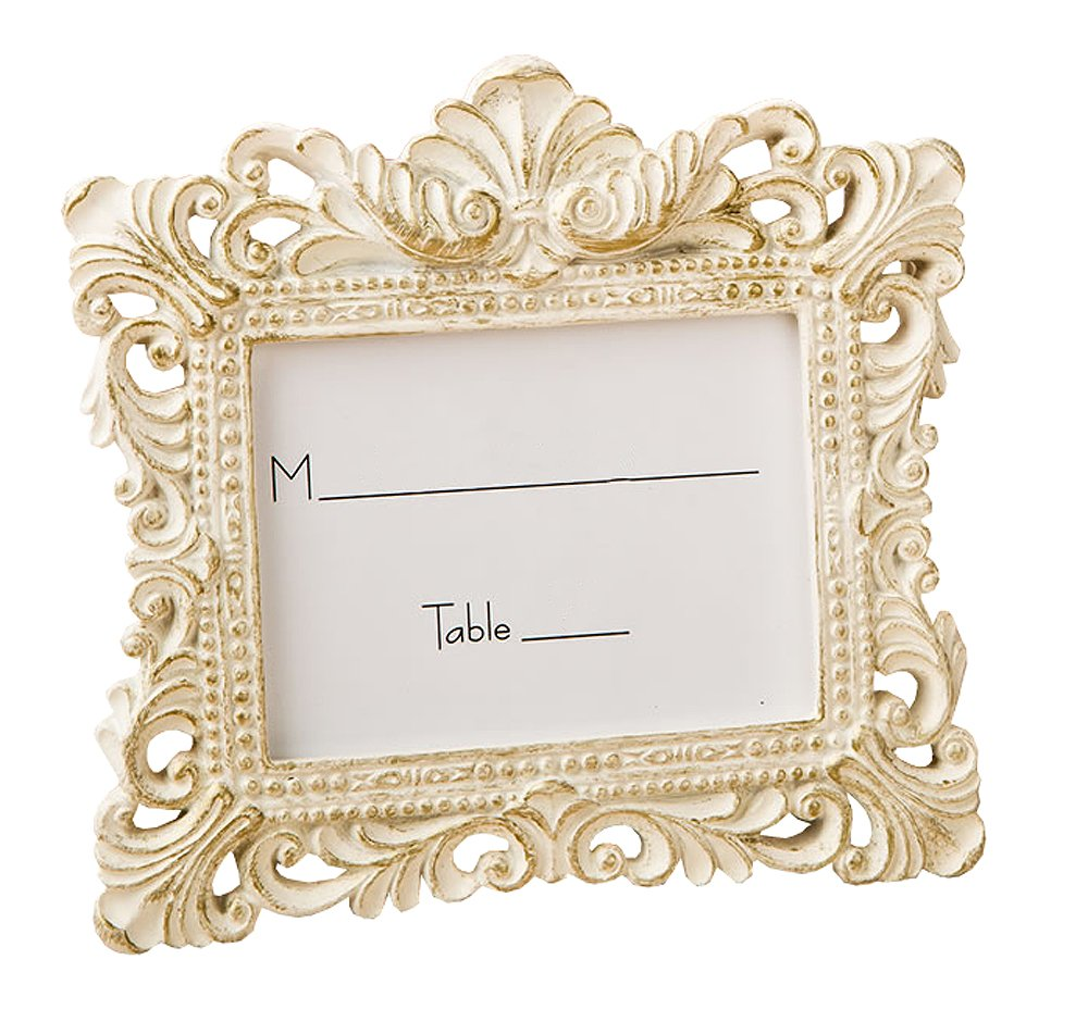 Vintage Baroque design placecard holder or picture frame
