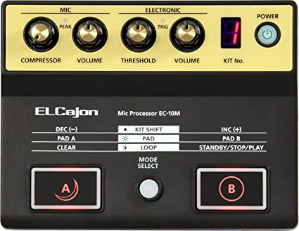 Roland Mic Processor for the EC-10 ELCajon Black EC-10M