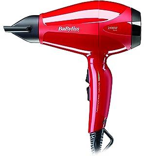 BaByliss 6615E Pro Intense - Secador de pelo, 2400 W, color rojo