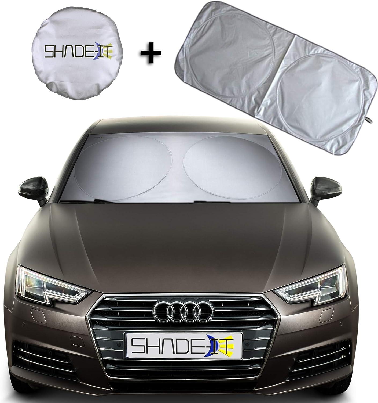 antkondnm Wolf Windshield Sun Shade for Car SUV Trucks Minivan Automotive Sunshades Keeps Your Vehicle Cool Heat Shield Shade
