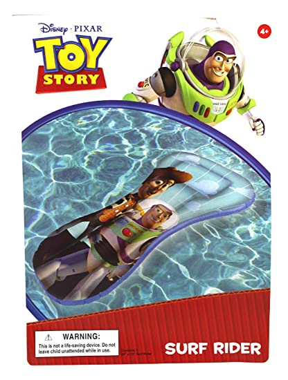 Amazon.com: Piscina Raft Buzz y Woody Toy Story Azul Colored ...