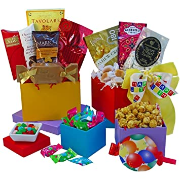 Amazon Happy Birthday Surprise Gourmet Food And Snacks Gift