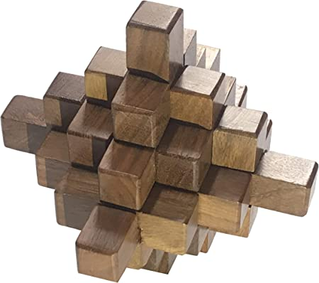 Chaya Nisarga The 19 Piece Puzzle (Brown, Pack of 19)
