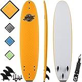 8' Beginner Foam Surfboard - Premium Soft Top