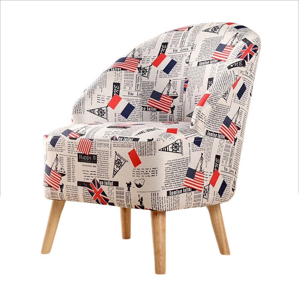 G-Y Faules Sofa, Moderner Nordischer Moderner Sofa, Minimalistischer Sofa-Stuhl, Einzelnes Wohnzimmer, Das Stuhl Speist (Farbe   Braun) b63316