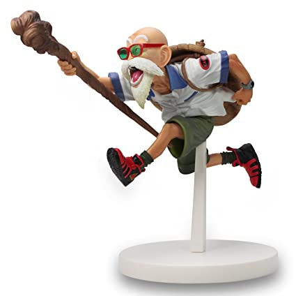 Amazon.com: Banpresto Maestro Roshi Dragon Ball Scultures ...