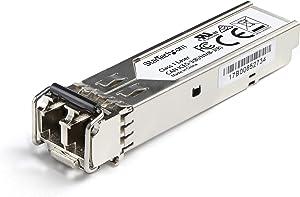 StarTech.com Dell EMC SFP-1G-SX Compatible SFP Module - 1000BASE-SX - 1GbE Multimode Fiber MMF Optic Transceiver - 1GE Gigabit Ethernet SFP - LC 550m - 850nm - DDM (SFP1GSXEMCST)