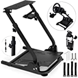 VEVOR G920 Racing Steering Wheel Stand Pro Shifter Mount Logitech G27/G25, G29 Gaming Wheel Stand Thrustmaster,Wheel Pedals NOT Included Racing Wheel Stand (Stand, G920)