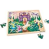 Melissa & Doug Fairy Fantasy Wooden Jigsaw Puzzle with Storage Tray (48 pcs)