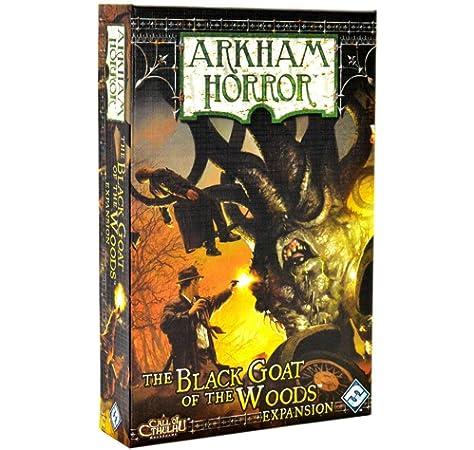 Arkham Horror: La Cabra Negra De Los Bosques Expansión: Amazon.es: Fantasy Flight Publishing, Inc.: Libros
