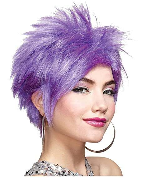Sexy Punk Lavender Adult Wig