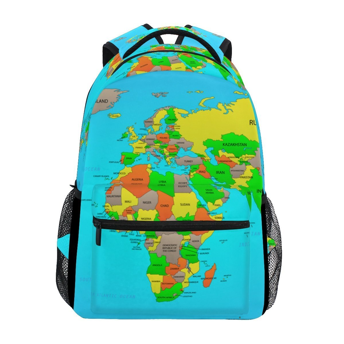 Amazon.com | World Map Uni Rucksack Satchel Casual ... on map shoes, map luggage, map boots, map crossbody, map skirt, map phone case, map jacket, map scarf, map white, map trunk, map suitcase, map wallet, map sweater,
