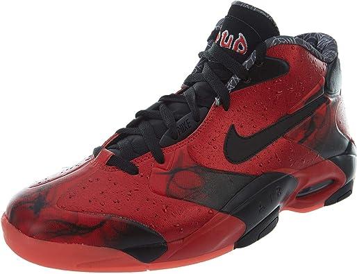 tanto Preparación Estresante  Amazon.com | Nike Air Up 14 QS Mens NBA Basketball Penny Hardaway Shoes Red  Sz 10 | Basketball