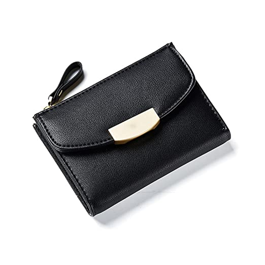 Image Unavailable. Image not available for. Color  Fashion Short Women  Wallets ID Card Holder Small Wallet Zipper Coin Pocket Purses Ladies Leather  Purse 9ab570e97247