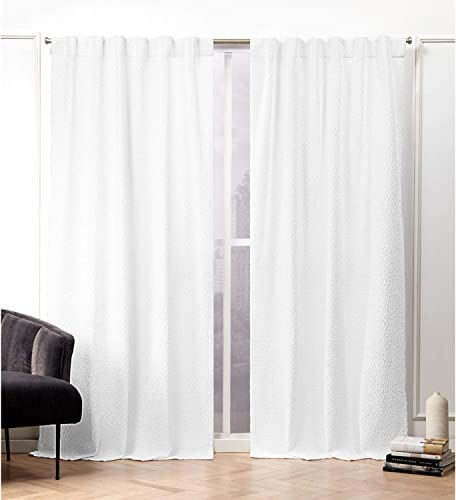 Nicole Miller Textured Matelass Curtain Panel