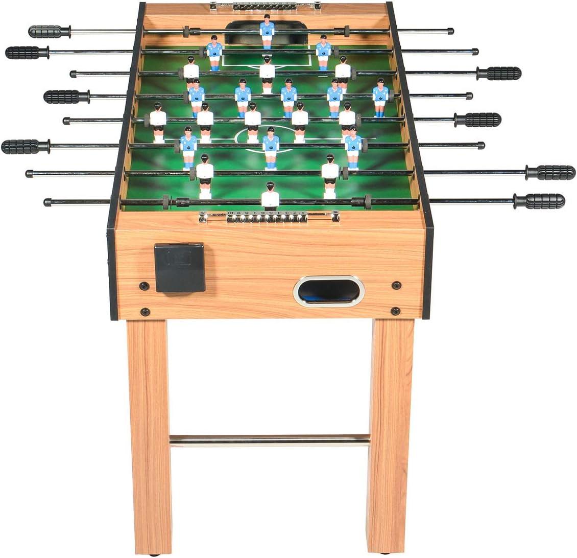Mesa de Futbolin -Baby Foot Teenagers -Mesa Futbilin para niños - 126 x 62 x 80 cm: Amazon.es: Juguetes y juegos