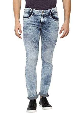 019867d83f81 Mufti Light Super Slim Fit Cloud Wash Fashion Jeans  Amazon.in  Clothing    Accessories
