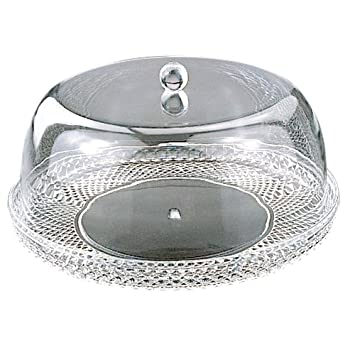 Cake Plate W/Dome Set 12\u0026quot; ...  sc 1 st  Amazon.com : square cake plate with dome - pezcame.com