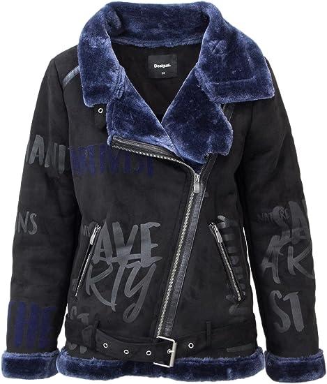 Large Xx Damen SchwarzBekleidung Jacke Desigual TJK5F3ul1c