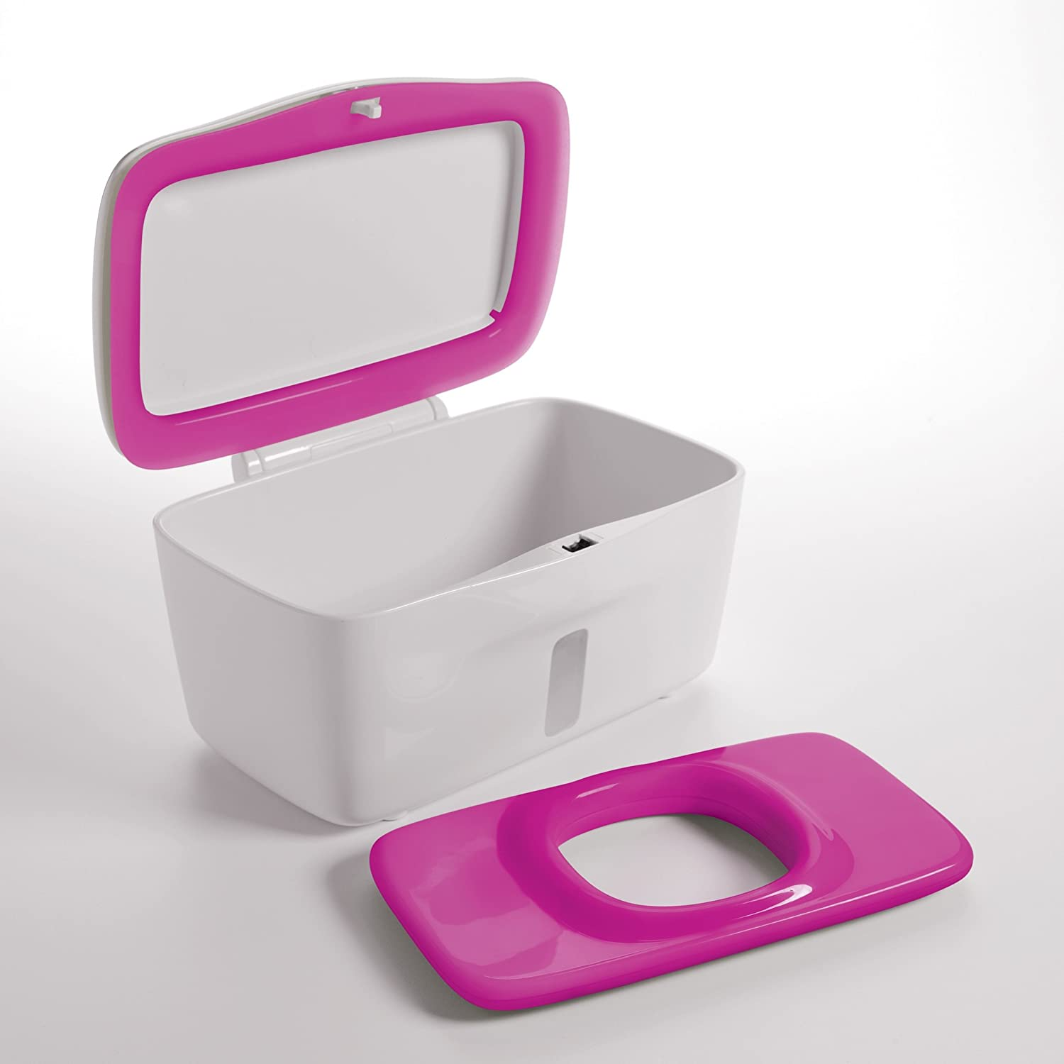 OXO Tot PerfectPull/™ Wipes Dispenser with Weighted Plate Pink