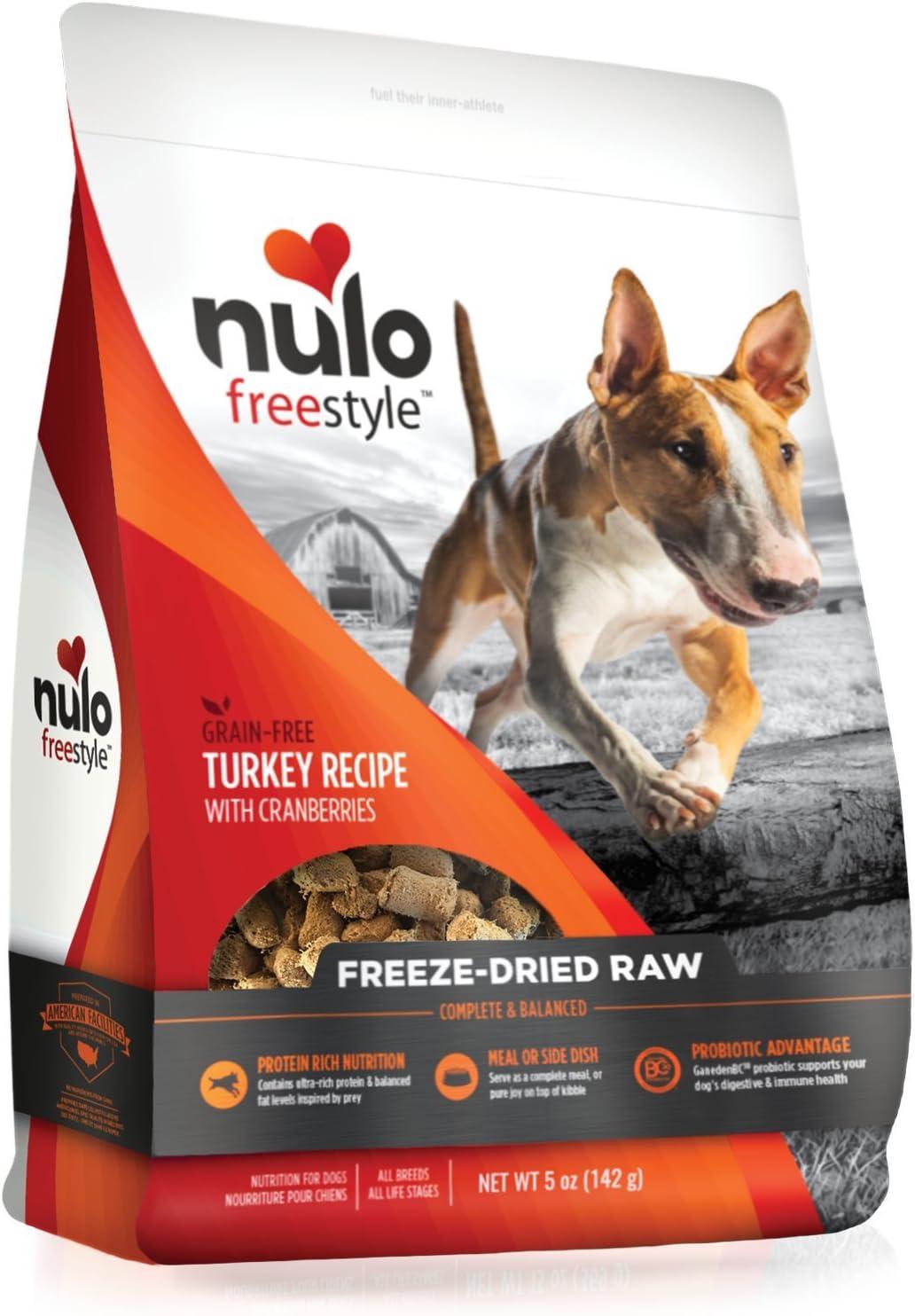 Nulo Freeze Dried Raw Grain-Free Turkey Recipe with Cranberries Dog Food