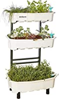Altifarm Home Farm; Vertical Raised Elevated Garden Self-watering Planter Kit For Indoor & Outdoor Gardening (3 Tier,...