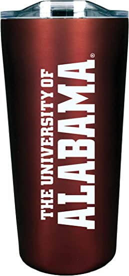 Burgundy The Fanatic Group Personalized Alabama Double Walled Soft Touch Tumbler Design-9