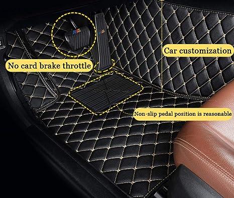 Fu/ßmatten f/ür B ENZ CLA Class AMG 2014-2017 rutschfeste Abnutzung Bodenmatten-Leder Material Automatten Teppiche Beige