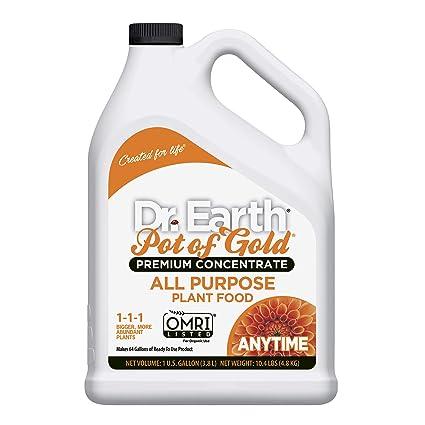 Dr  Earth Pot of Gold All Purpose Liquid Fertilizer 1 Gallon