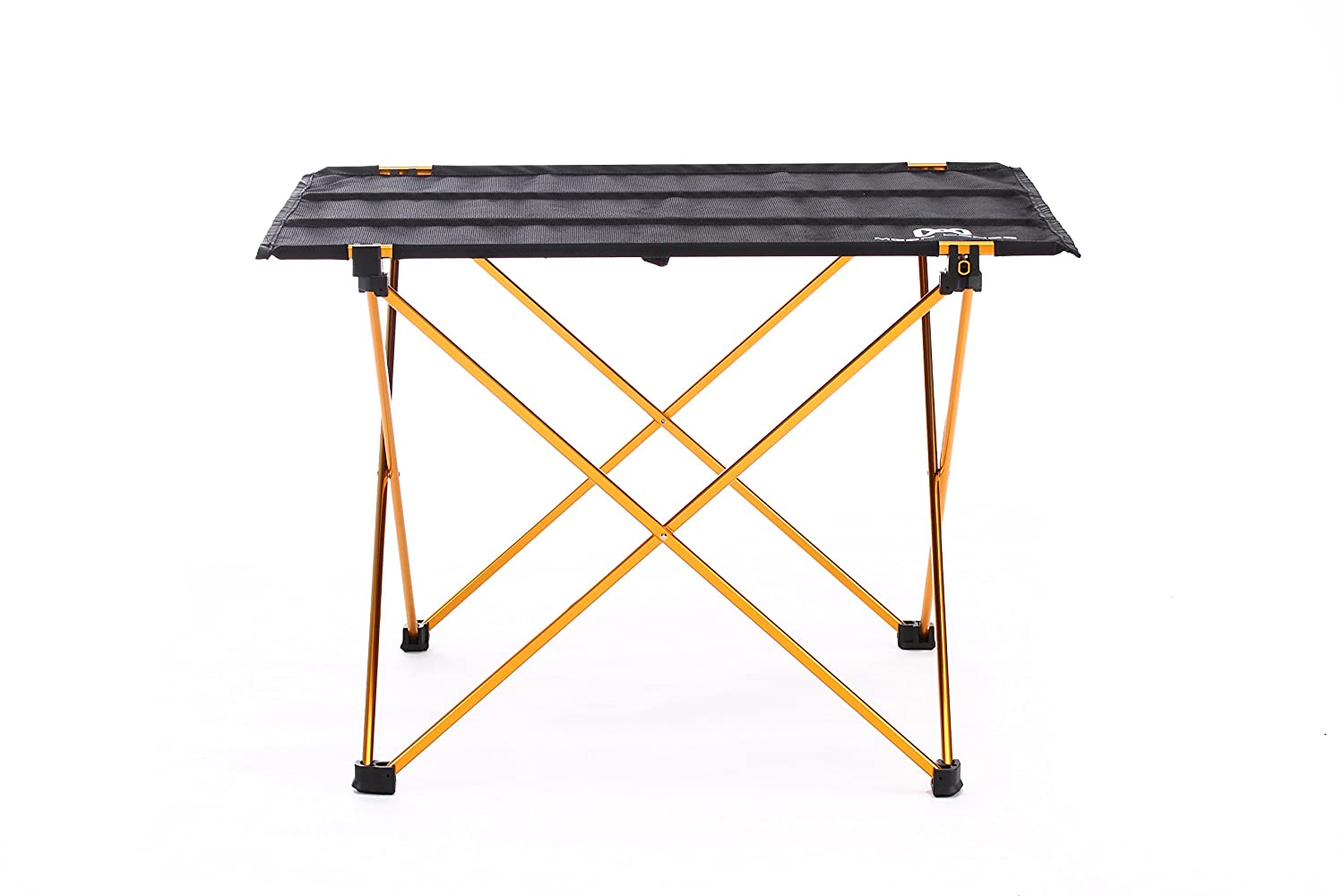 Moon lence ultralight folding camping picnic roll up table with carrying bag ebay - Lightweight camping tables ...