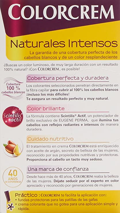COLORCREM tinte Rubio Nº 70 caja 1 ud