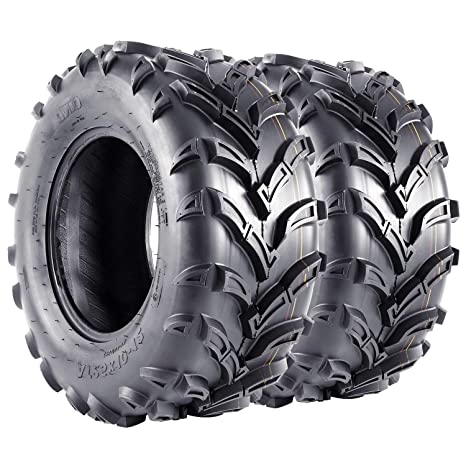 Set of 4  WANDA ATV//UTV Tires 25x10-12 25x10x12 //6PR 10165