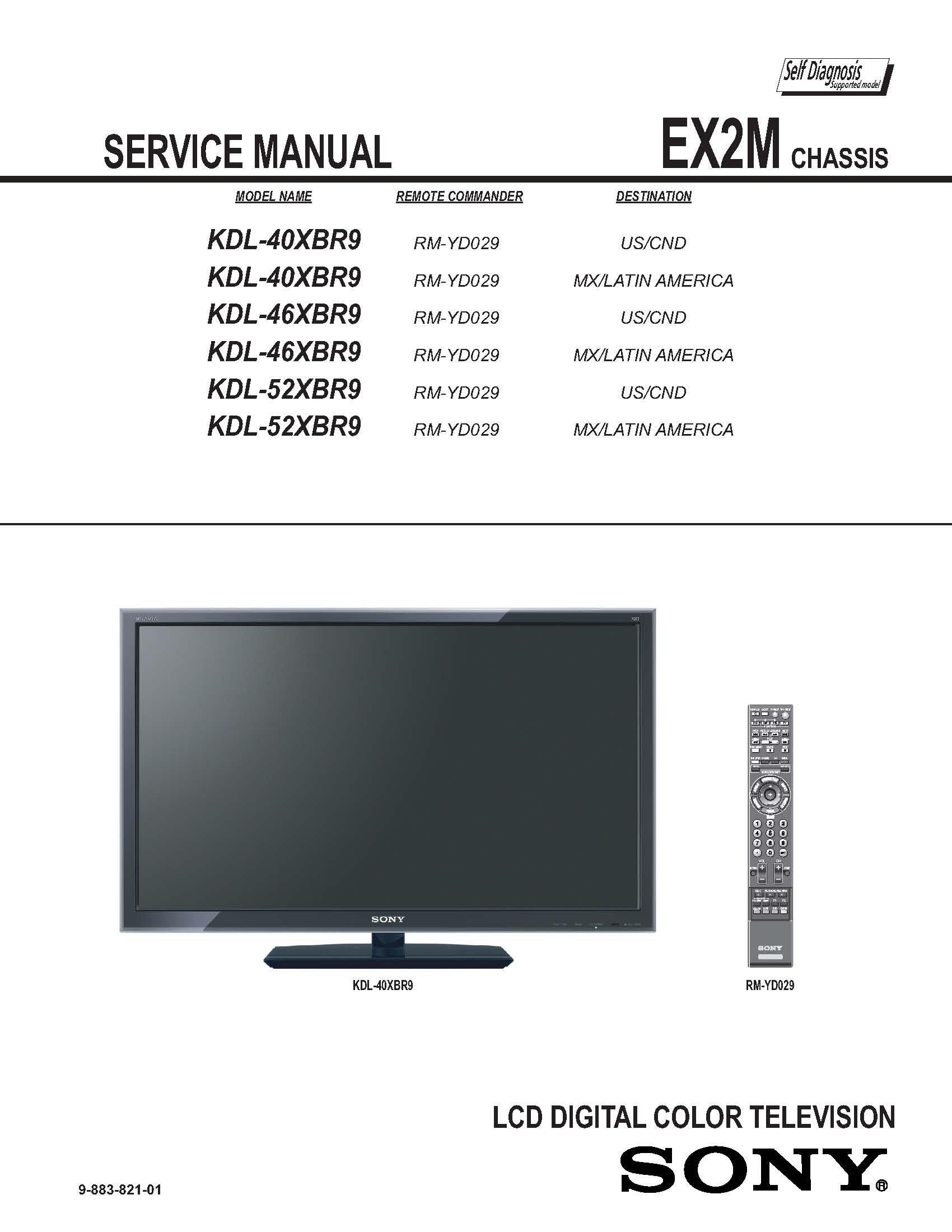 Sony bravia kdl-46xbr9 ota tv guide no data.
