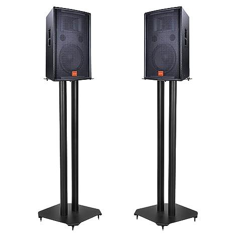 Brilliant Amazon Com Homgarden Pair Of Premium Floor Speaker Stands Download Free Architecture Designs Scobabritishbridgeorg