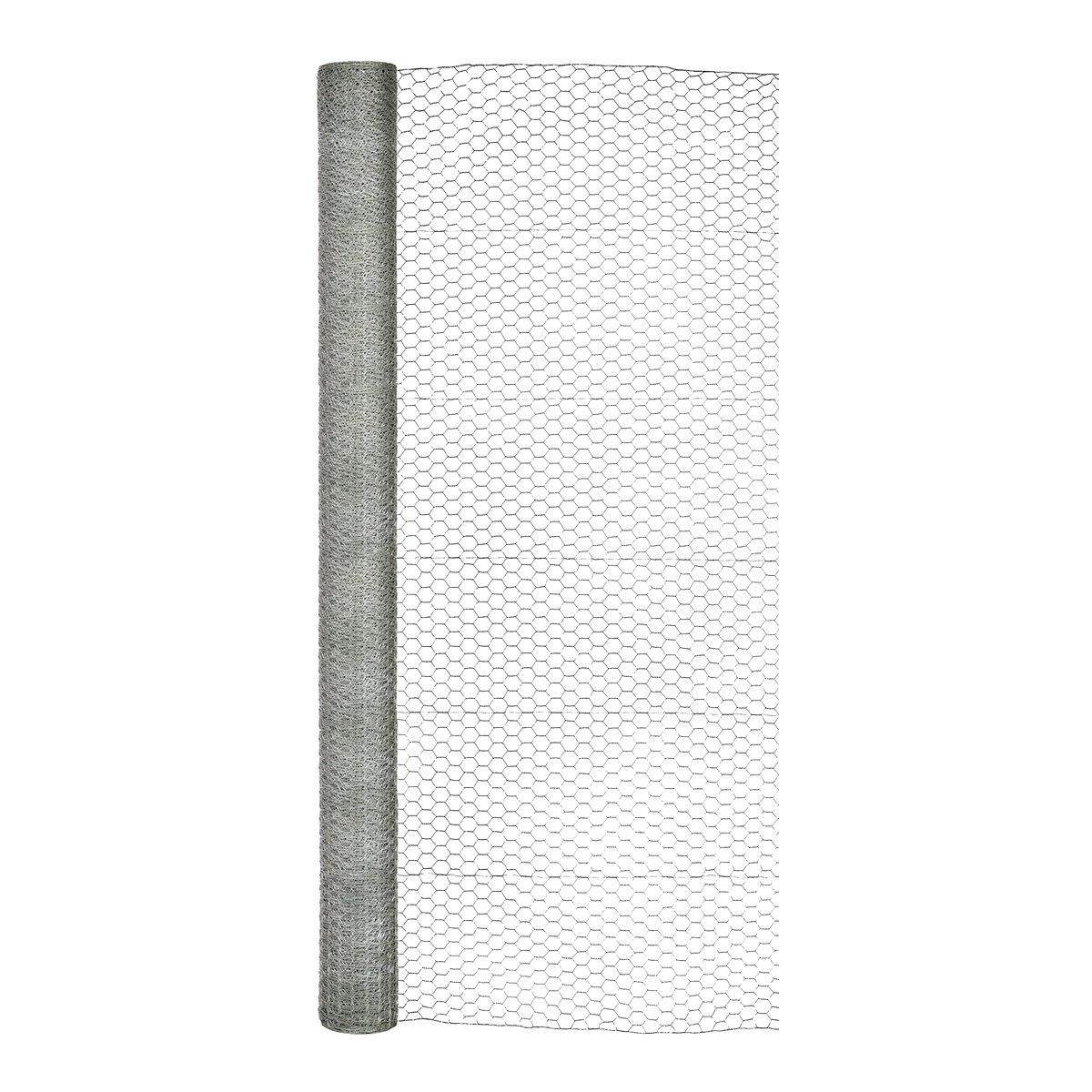 Garden Zone 72x150 1-Inch Galvanized Hex Netting