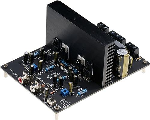 WONDOM 2 X 125W 8 Ohm Class D Audio Amplifier Board – IRS2092 AA-AB32321 for Alarm System