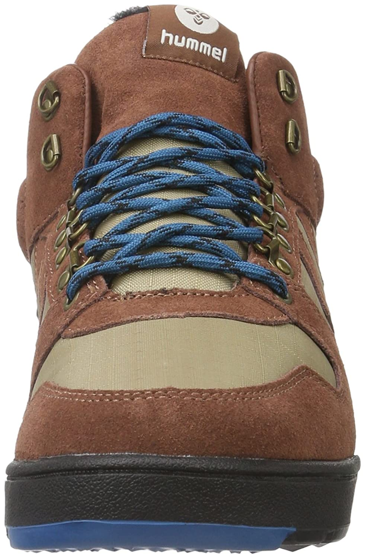 hummel Nordic Roots Forest, Sneakers Hautes Mixte Adulte, Marron (Friar Brown), 40 EU