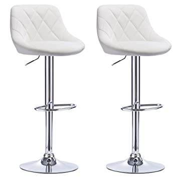 woltu bh23ws 2 tabouret de bar lot de 2 en cuir synthtique2 tabourets - Lot De 2 Tabouret De Bar