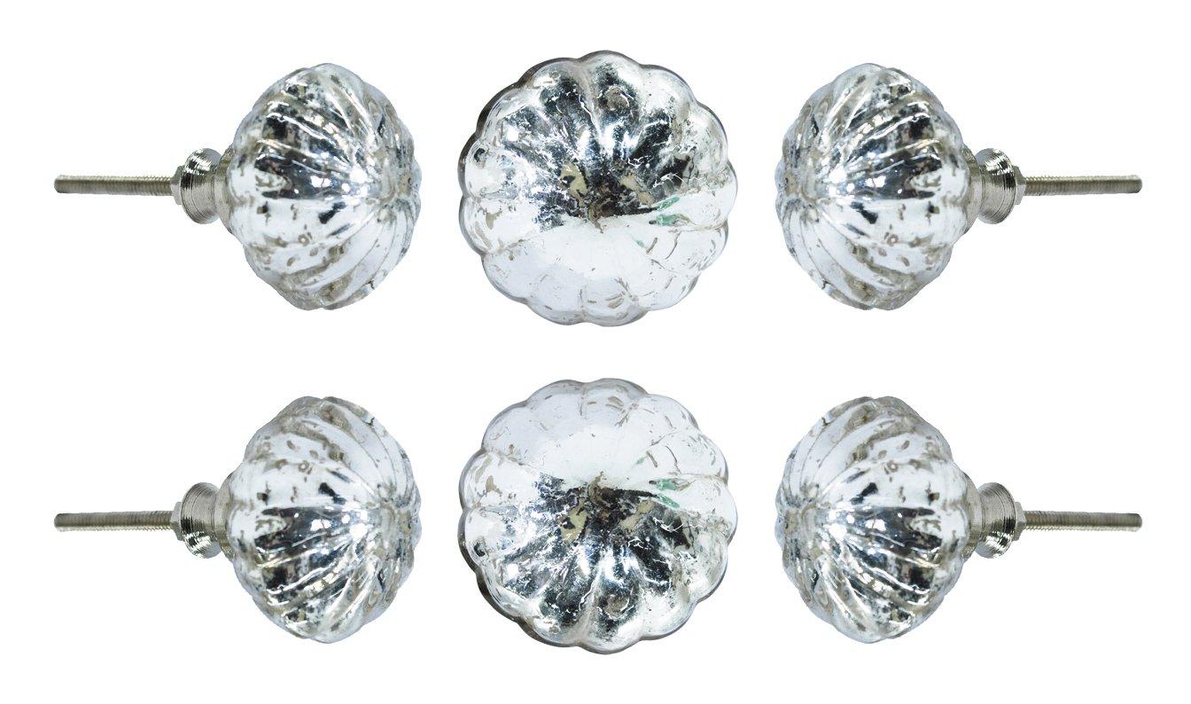 6 Tiradores - Simil Cristal (7MQG1NNC)
