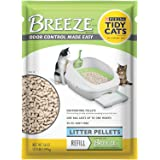 Tidy Cats 2 Pack of Purina BREEZE Cat Litter Pellets Refill for Multiple Cats 3.5 lb. Pouch