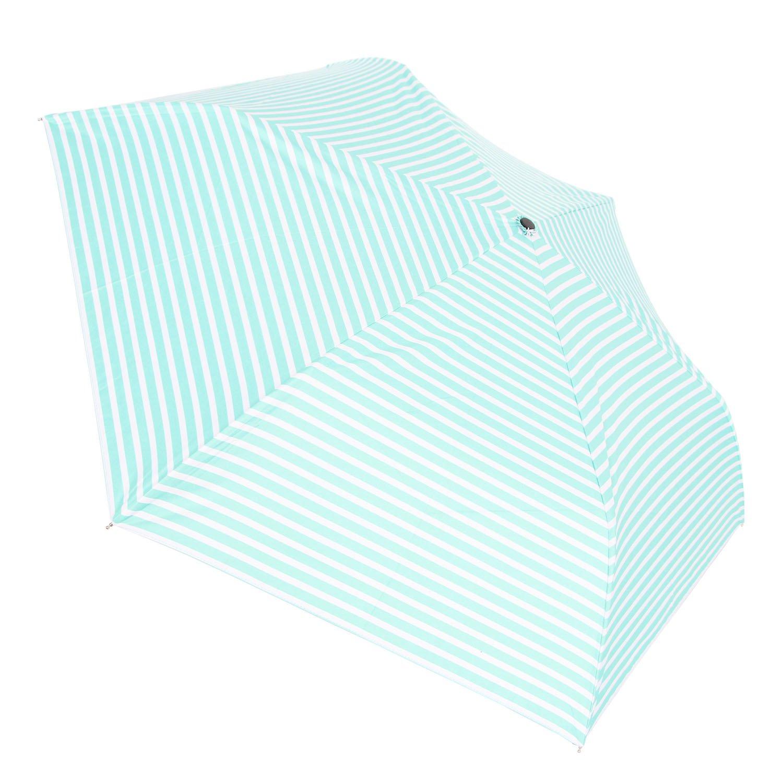 NEW SUSINO Small Mini Sun & Rain UV Protection Umbrella Lightweight Compact Travel for Women Kids Purse Backpack Mint Green/White by NEW SUSINO (Image #3)
